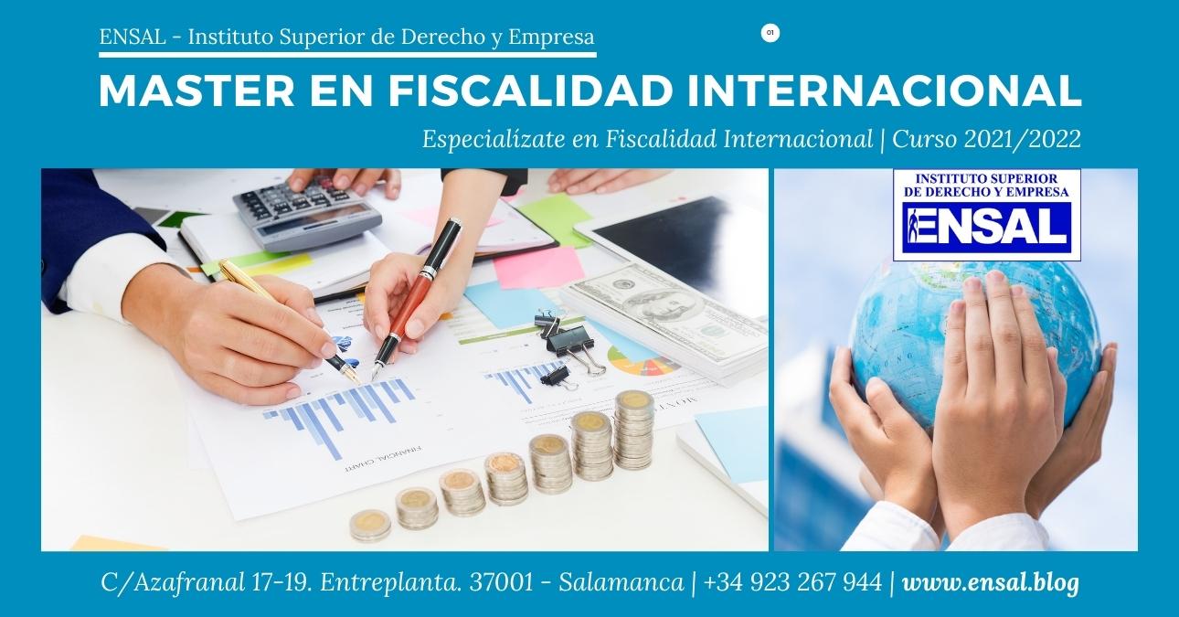 Master en Fiscalidad Internacional