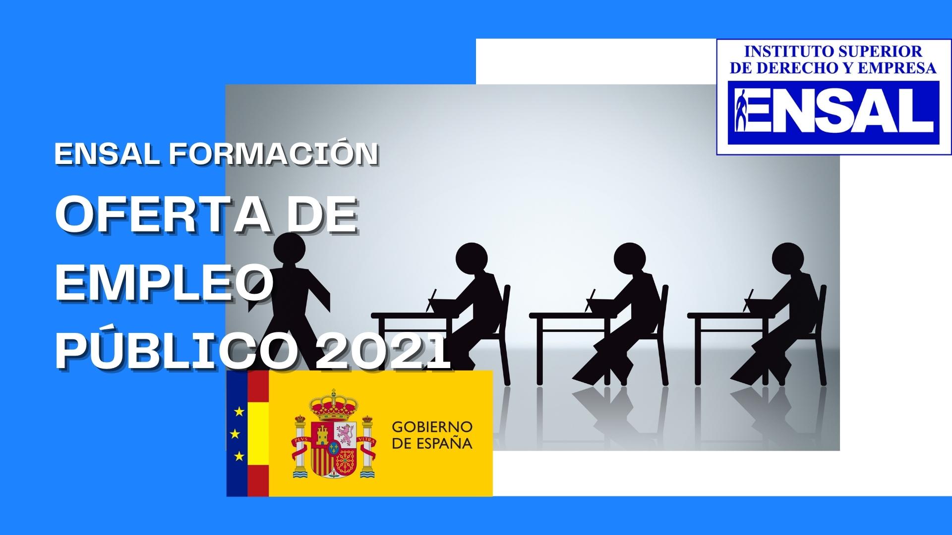 Oferta de Empleo Público del Estado para 2021